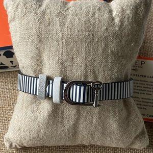 NIB Single Keep Collective Navy & White Bracelet